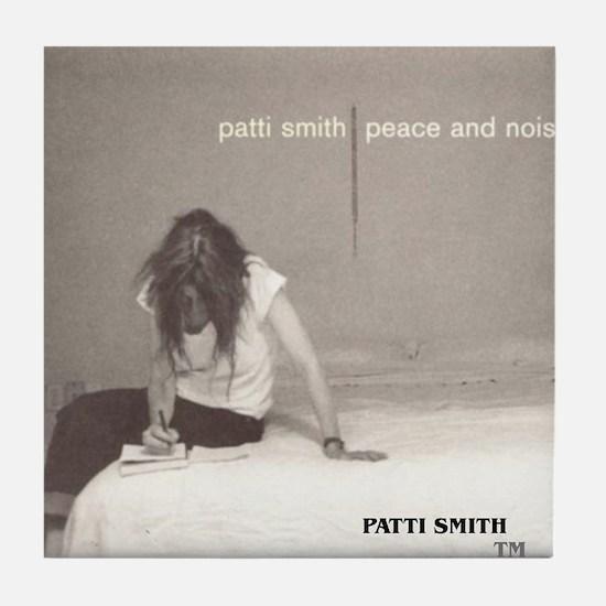 Patti Smith Poster Tile Coaster