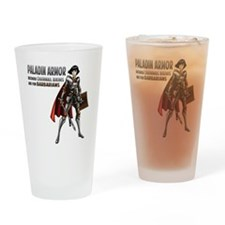 Paladin Armor Drinking Glass