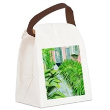 French Quarter Canvas Lunch Bag