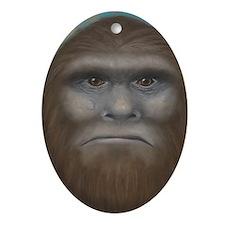 Bigfoot Oval Ornament