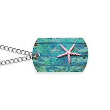 Starfish and Turquoise Dog Tags
