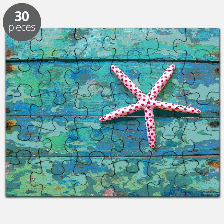 Starfish and Turquoise Puzzle