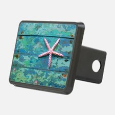 Starfish and Turquoise Hitch Cover
