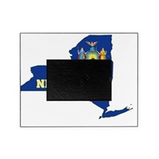 New York State Flag Map Picture Frame