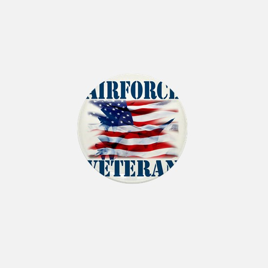 Airforce Veteran copy Mini Button