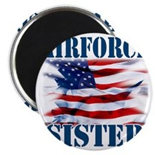 Airforce Sister Magnet