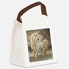 Golden unicorn Canvas Lunch Bag