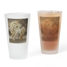 Golden unicorn Drinking Glass