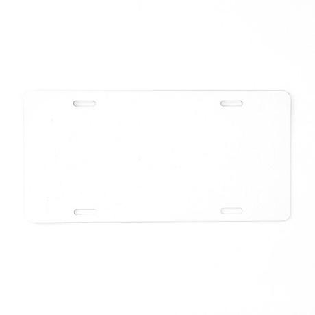 relax1 Aluminum License Plate