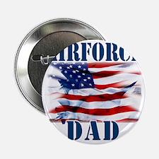 """Airforce Dad 2.25"""" Button"""
