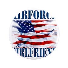 """Airforce Girlfriend 3.5"""" Button"""