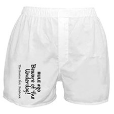 Rule #20 - Beware of the Underdog! Boxer Shorts