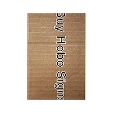 Buy Hobo Signs Rectangle Magnet