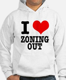I Heart (Love) Zoning Out Hoodie
