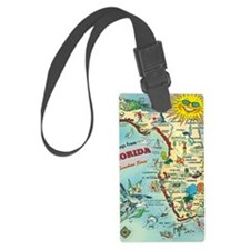 Vintage Greetings from Florida Luggage Tag