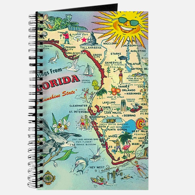 Vintage Greetings from Florida Journal