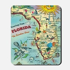 Vintage Greetings from Florida Mousepad