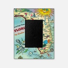 Vintage Greetings from Florida Picture Frame