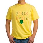 Baby 2008 Yellow T-Shirt