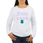 Baby 2008 Women's Long Sleeve T-Shirt