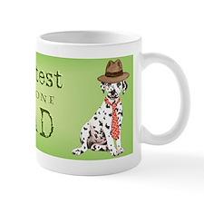 dalmatian dad Small Mug