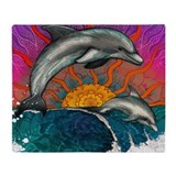 Dolphin Fleece Blankets