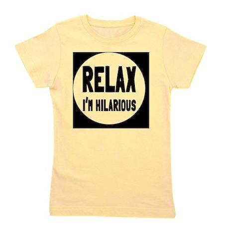 relaxbutton Girl's Tee