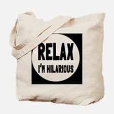 relaxbutton Tote Bag