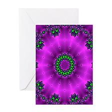 deep purple Greeting Card