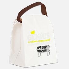 bbq genius Canvas Lunch Bag