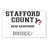 Humorous staffords Bumper Stickers