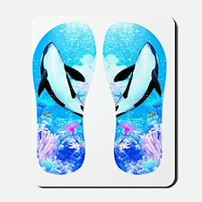 o3_flip_flops Mousepad