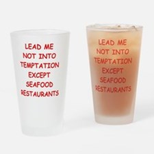 seafood Drinking Glass