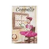 Coppelia ballet Magnets