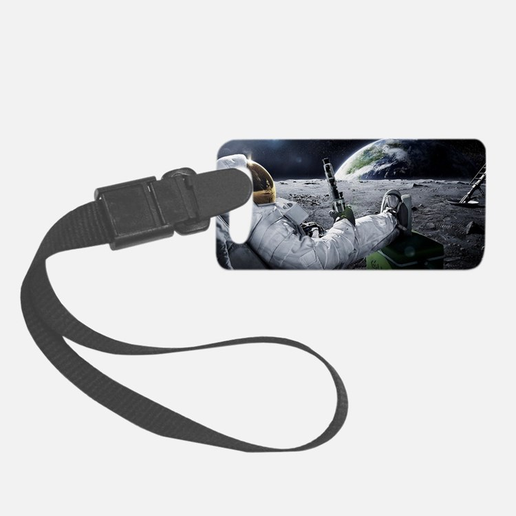 The World at Large Luggage Tag