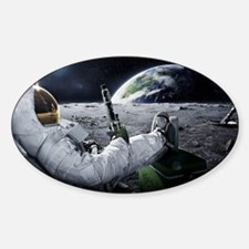 The World at Large Sticker (Oval)