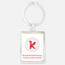 Kid Strong Foundation Portrait Keychain
