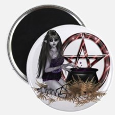 Wiccan Pentacle Magnet