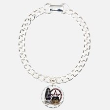 Wiccan Pentacle Bracelet