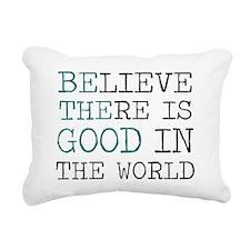 Be the Good Rectangular Canvas Pillow