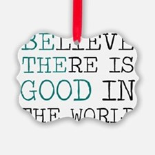 Be the Good Ornament