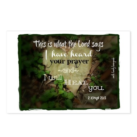 I Have Heard Your PrayerB Postcards (Package of 8)