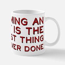 Becoming An Adult Was Dumb Mug