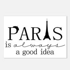 Oui! Oui! Paris anyone? Postcards (Package of 8)