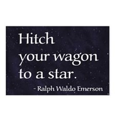 Hitch your wagon to a sta Postcards (Package of 8)