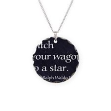 Hitch your wagon to a star Necklace