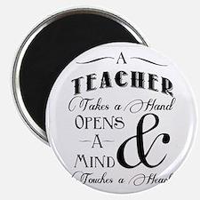 Teachers open minds Magnet