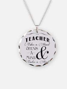 Teachers open minds Necklace