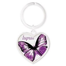 lupus end it Heart Keychain