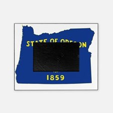 Oregon State Flag and Map Picture Frame